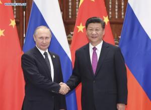 Xi Jinping - Vladimir Putin G20 Hangzhou 1