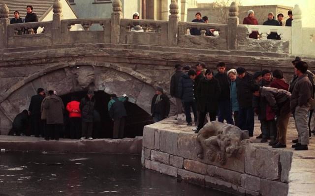 Podul Houmen din Beijing