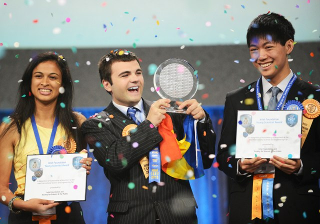 1 Alexandru Budisteanu - Intel ISEF  2013 winner