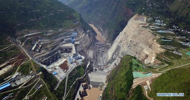 Barajul Baihetan 1