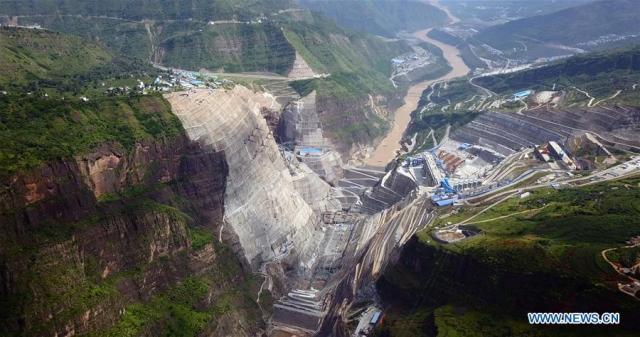 Barajul Baihetan 2