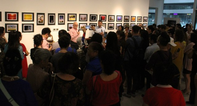 Expozitie RADACINI - Vergil si Liviu Suciu, ICR Beijing 01.08.2017 a
