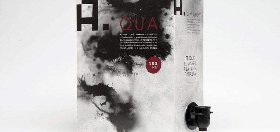 El vi A. QUA, en bag in box