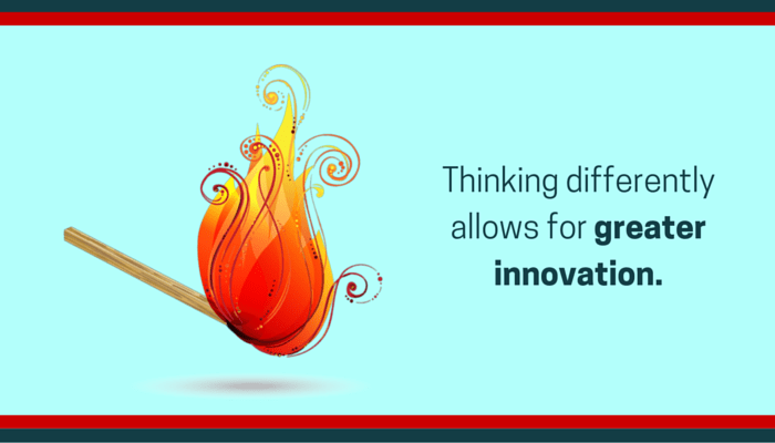 Be more innovative