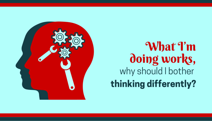 Why think differently
