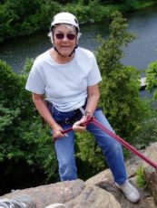 Mom repelling