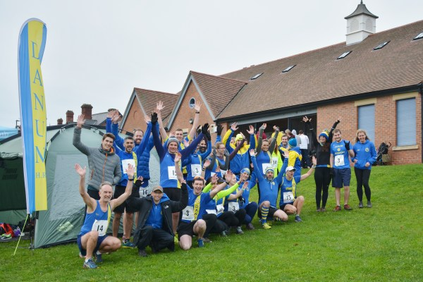 Harriers at the Club Relays