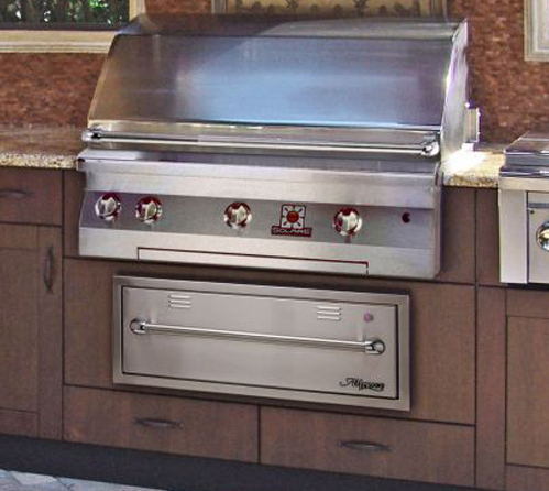 Outdoor Grill Cabinets  Grill Surrounds  Danver