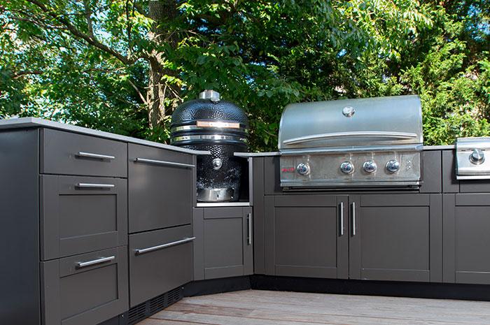 Ceramic Egg Smoker Appliance Cabinets  Danver