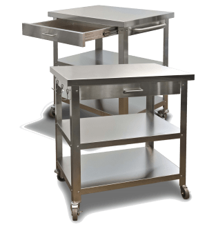stainless steel kitchen cart redoing cabinets carts for indoors or outdoors danver buy a indoor outdoor at these online retailers