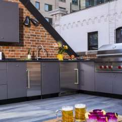 Danver Outdoor Kitchens White Distressed Kitchen Table Rooftop Terraces To Maximize Your Space Maximizing Living