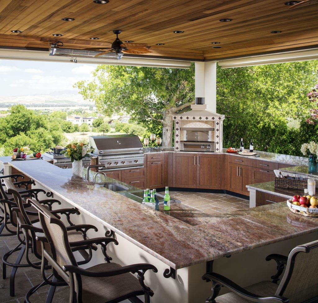 danver outdoor kitchens grey backsplash kitchen does an add value to a home in ca