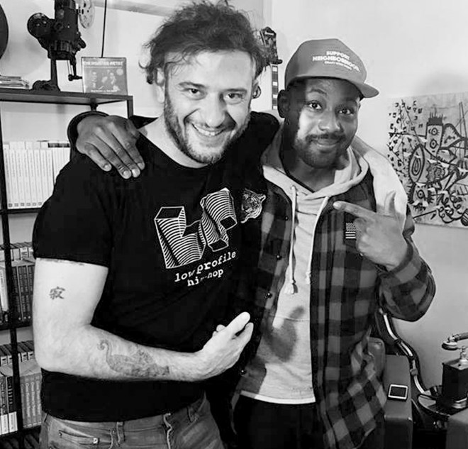 Dan and Tattoo Money