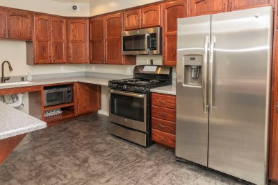 Fully equipped community kitchen