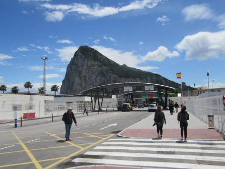 Heading in to Gibraltar