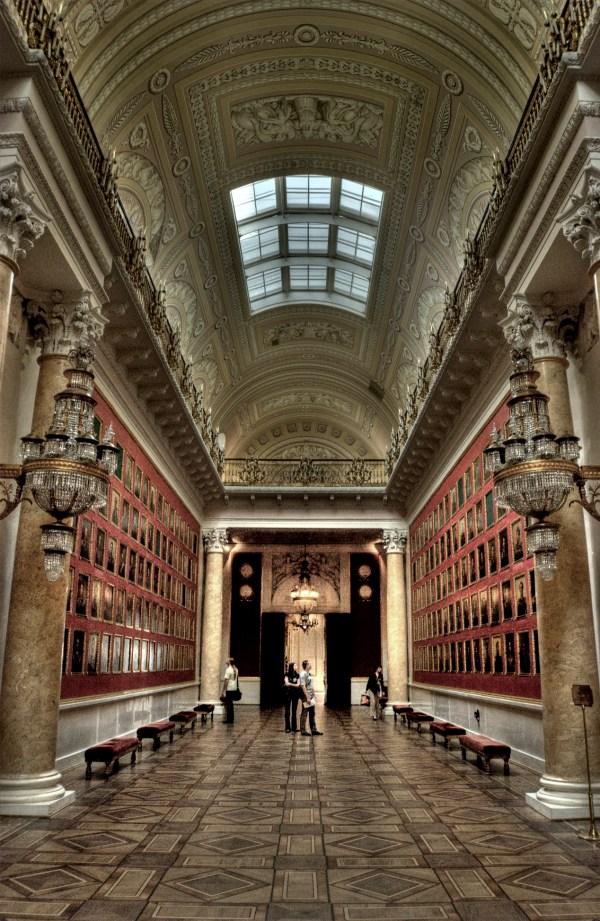 Hermitage Museum Russia Saint Petersburg In