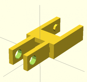 Chain Link in OpenSCAD