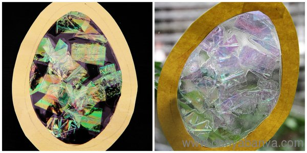 Six Types Of Stained Glass Easter Eggs That Even Your