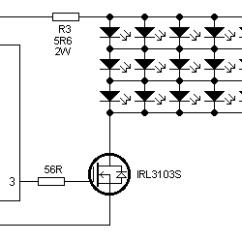 Led Strobe Light Circuit Diagram Diagramming Sentences Declarative Stroboscope Schematic Of
