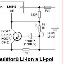 Lithium Ion Cell Diagram Dsc Pc1616 Wiring Simple Li And Pol Charger The Schematic Of With Lm317 Pin Configuration