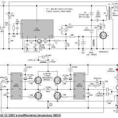 240v To 12v Transformer Wiring Diagram Honeywell Gas Valve Switching Transformerless Dc Ac 230v 150w Modified Sine Wave Inverter
