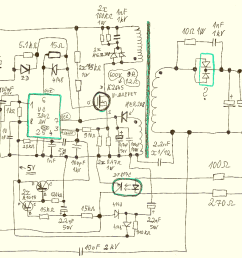 schematic of an industrial switching power supply module s 120w 12 in a metal housing it s a flyback topology the input is 100 240v ac mains and the  [ 1870 x 840 Pixel ]