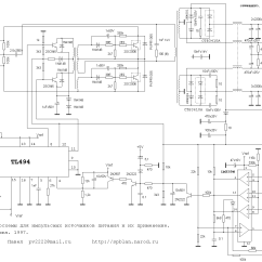 Atx 450w Smps Circuit Diagram 2008 Chevrolet Malibu Wiring At And Pc Computer Supplies Schematics Schematic Of 200w W Tl494
