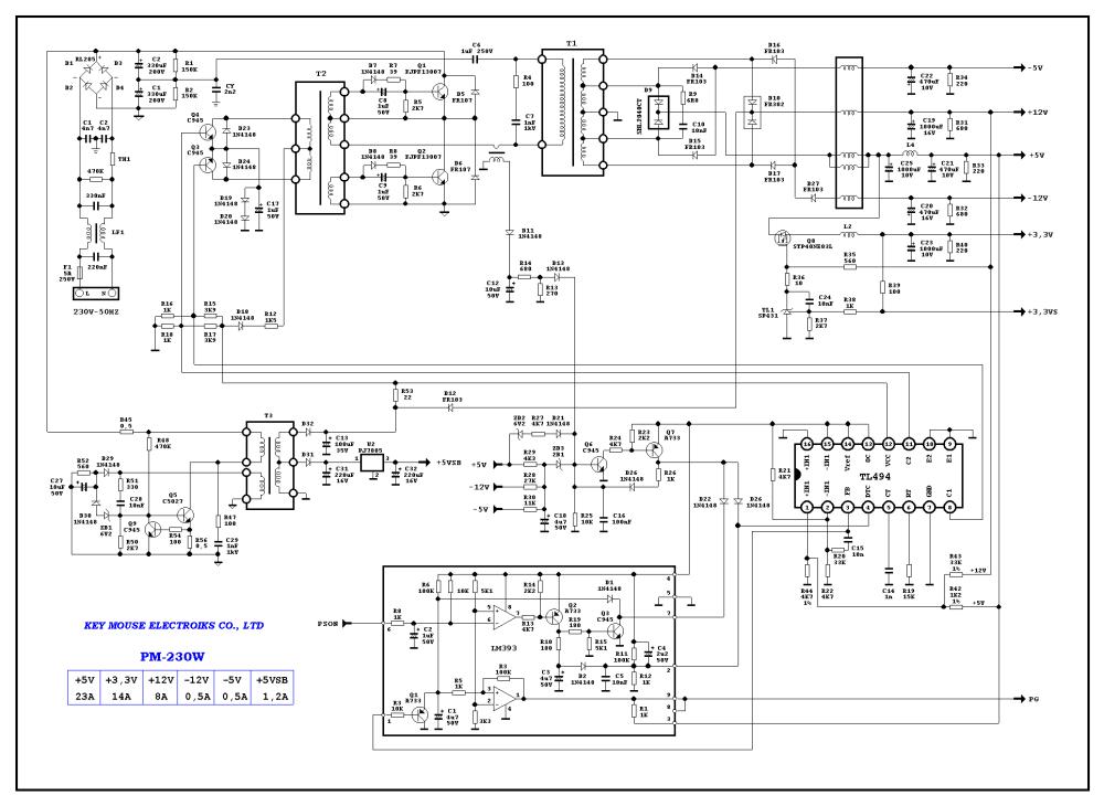 medium resolution of 230w key mouse elekctronic