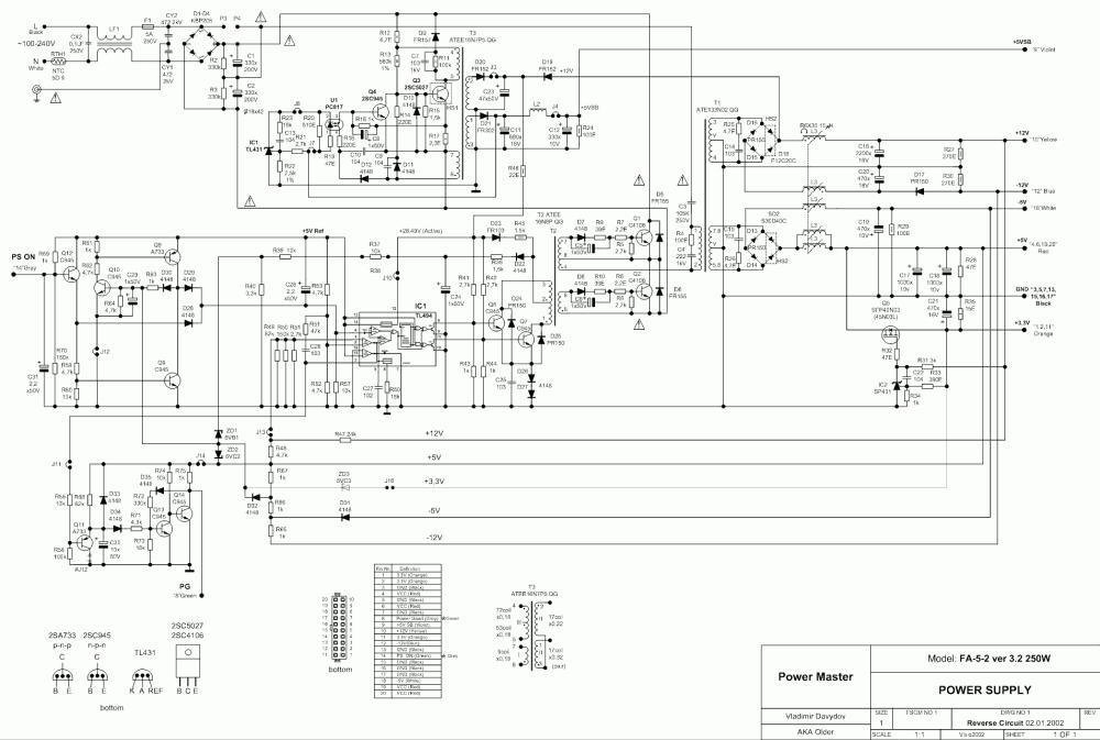 medium resolution of powermaster fa 5 2