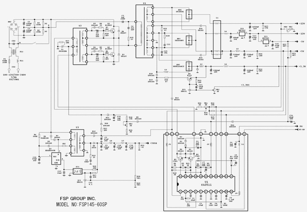 medium resolution of wiring diagram for dell power supply free download