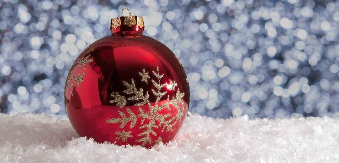 christmas christmas ball decoration frost