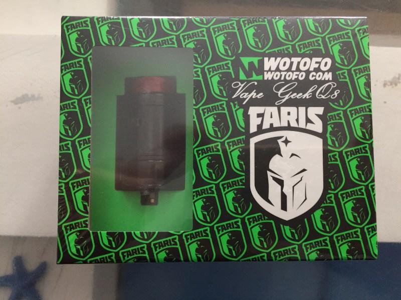 Faris Wotofo emballage