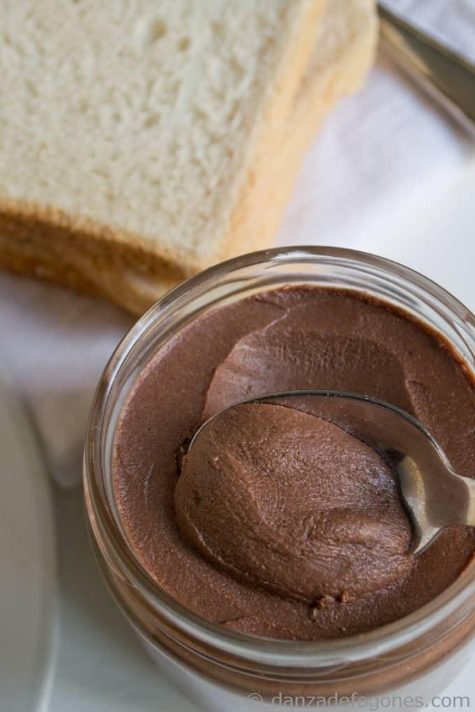 Crema de Cacao y Avellanas Nocilla o Nutella Casera