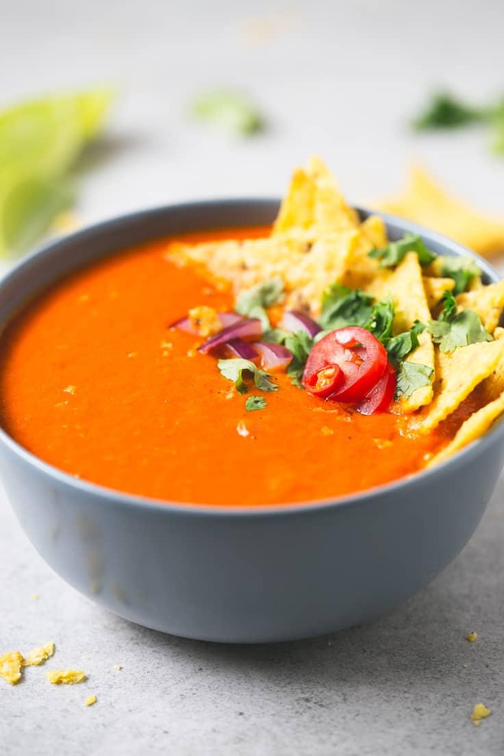 Sopa de Tomate Picante  Danza de Fogones
