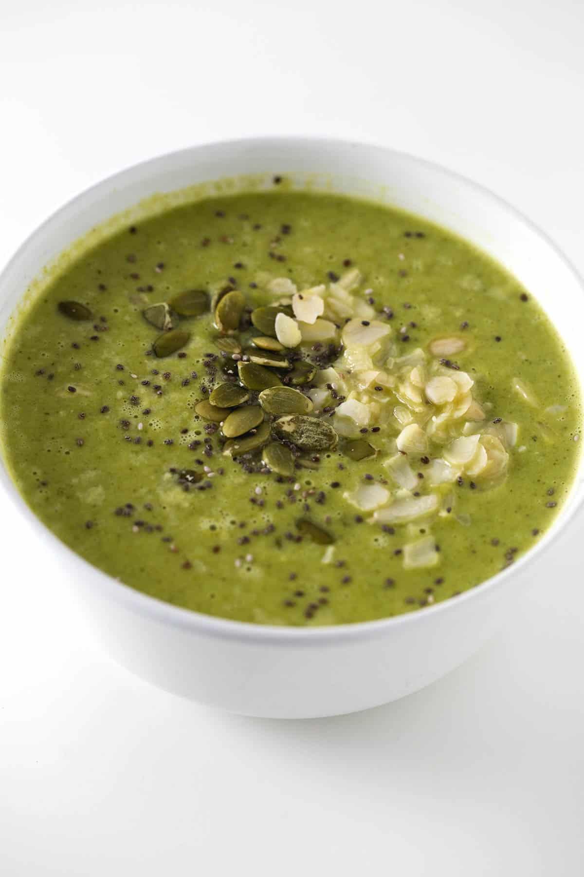 Sopa Verde Para Fortalecer el Sistema Inmune  Danza de