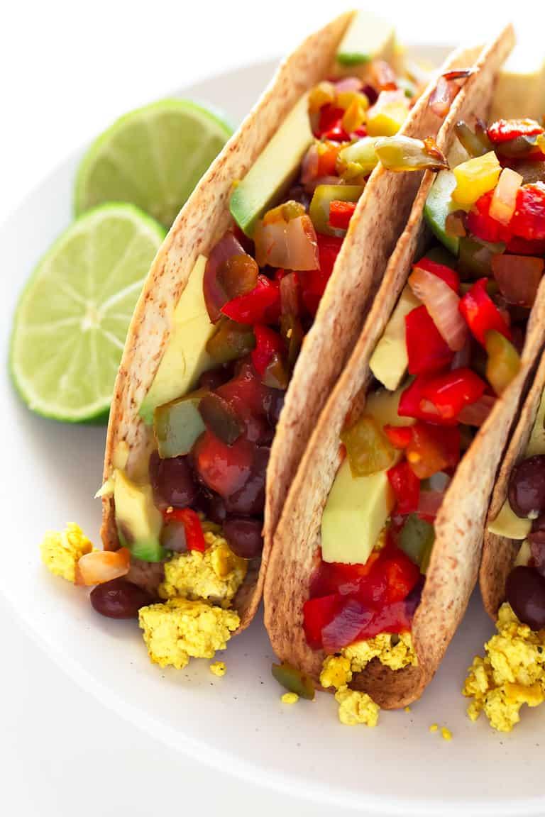 Tacos Veganos de Desayuno  Danza de Fogones