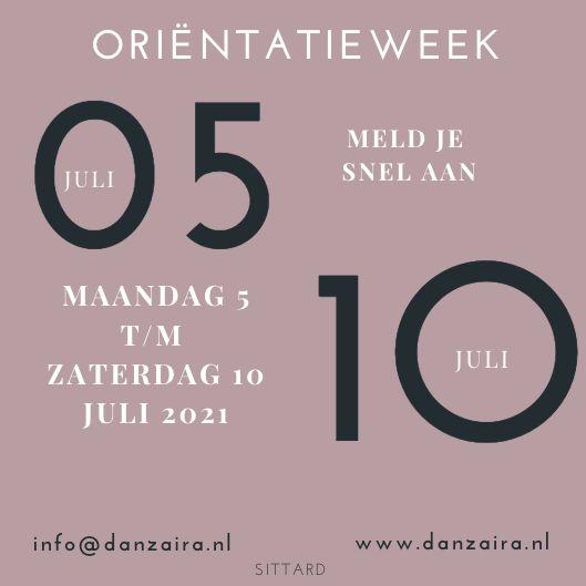 O-week inv.