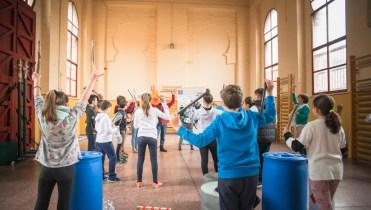 Taller de Percusión y reciclaje+Muestra | 2018 Escena Mobile