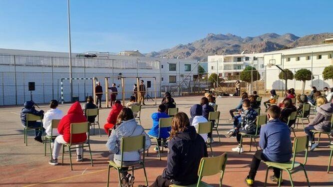 La Compañía cerró el año en Mojácar con el espectáculo 'En Vano'