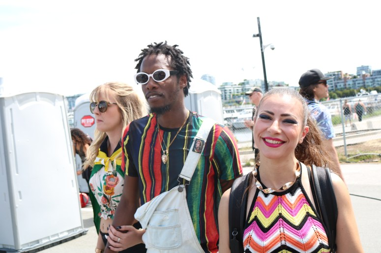 Kleen Prinz and Tereza Paraschivescu at Carnaval Del Sol YVR 2018