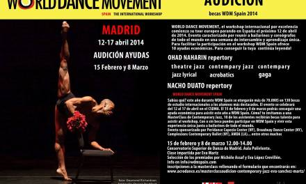 Becas para asistir a World Dance Movement Spain