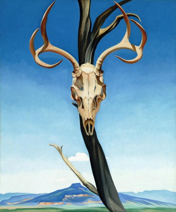 Artist-georgia Keeffe Dan Zink' Art