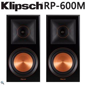 Klipsch RP-600M被動書架喇叭