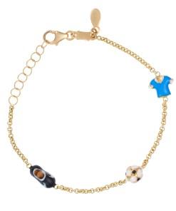 Daoro Jewelry 18 KARAT YELLOW GOLD , 2.8 GR. BOYS BRACELET