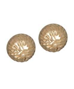 Daoro 18 KARAT ROSE GOLD, 2.4 GRS EARRINGS. (HALF BALL)