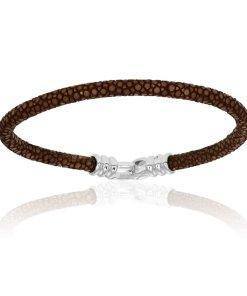 Brown stingray bracelets (Unisex)