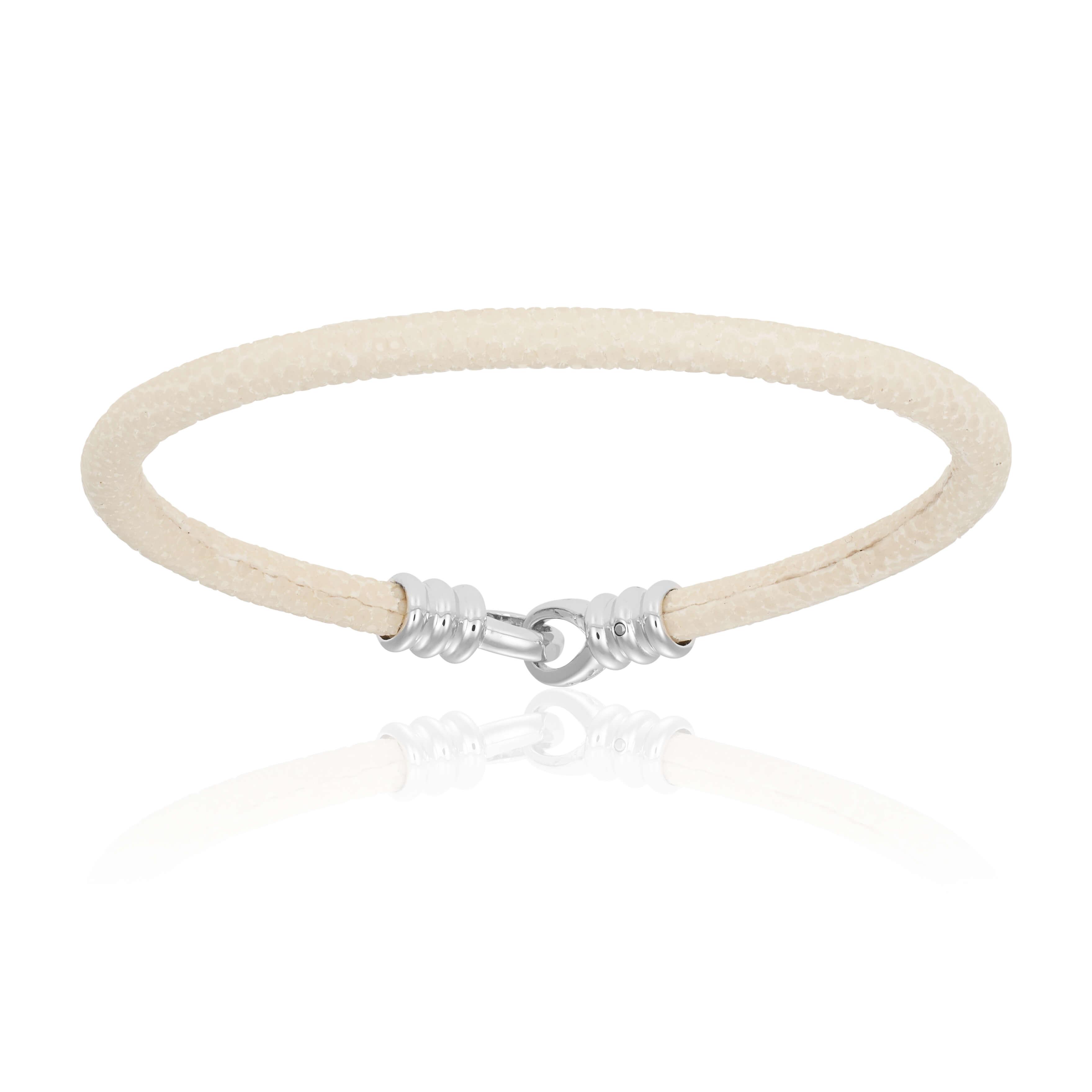 White stingray bracelet (Unisex)