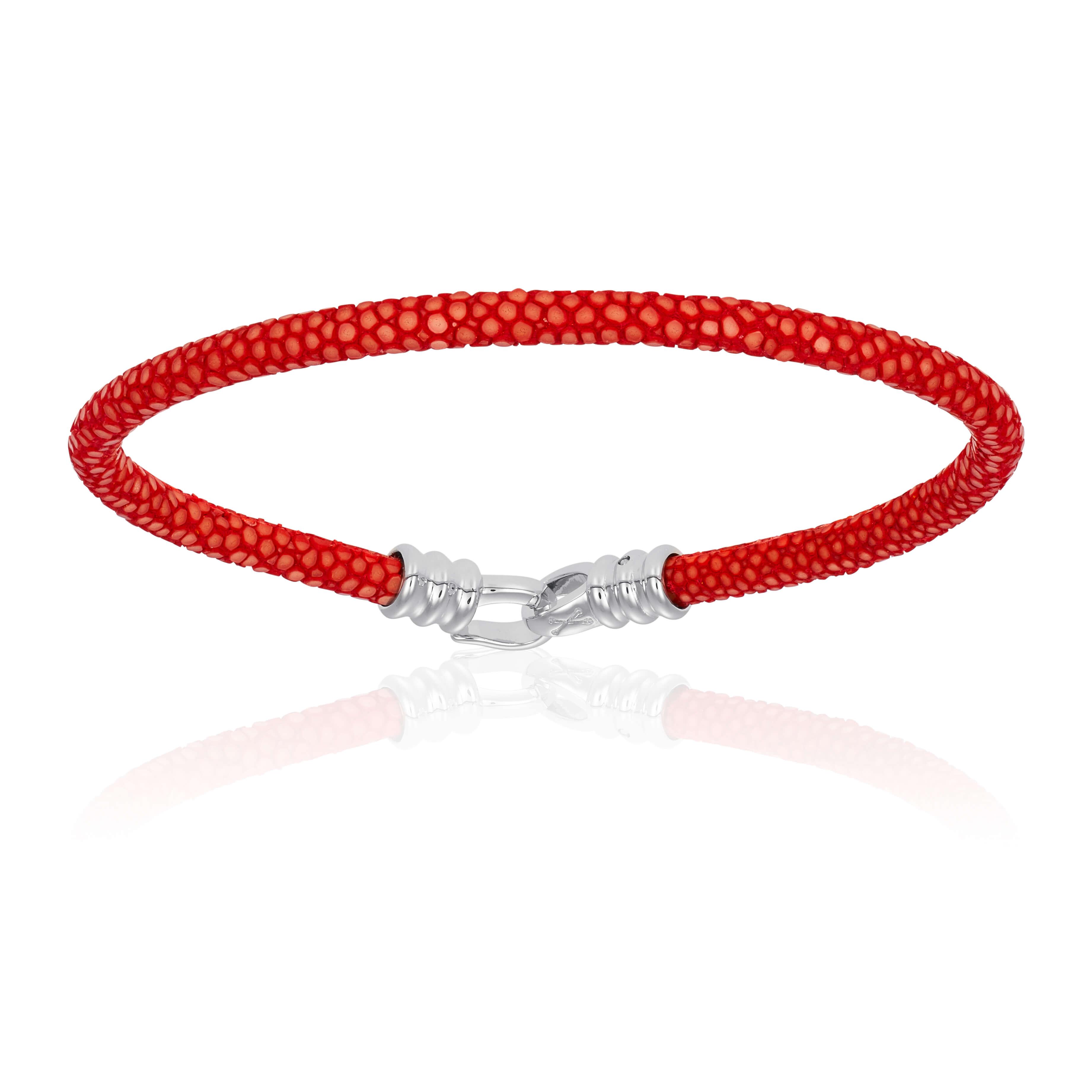 Red stingray bracelet (Unisex)