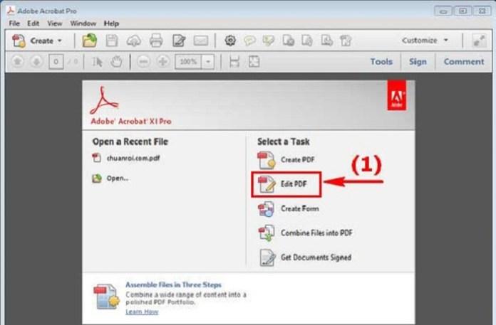 Cách chỉnh sửa file PDF dạng ảnh