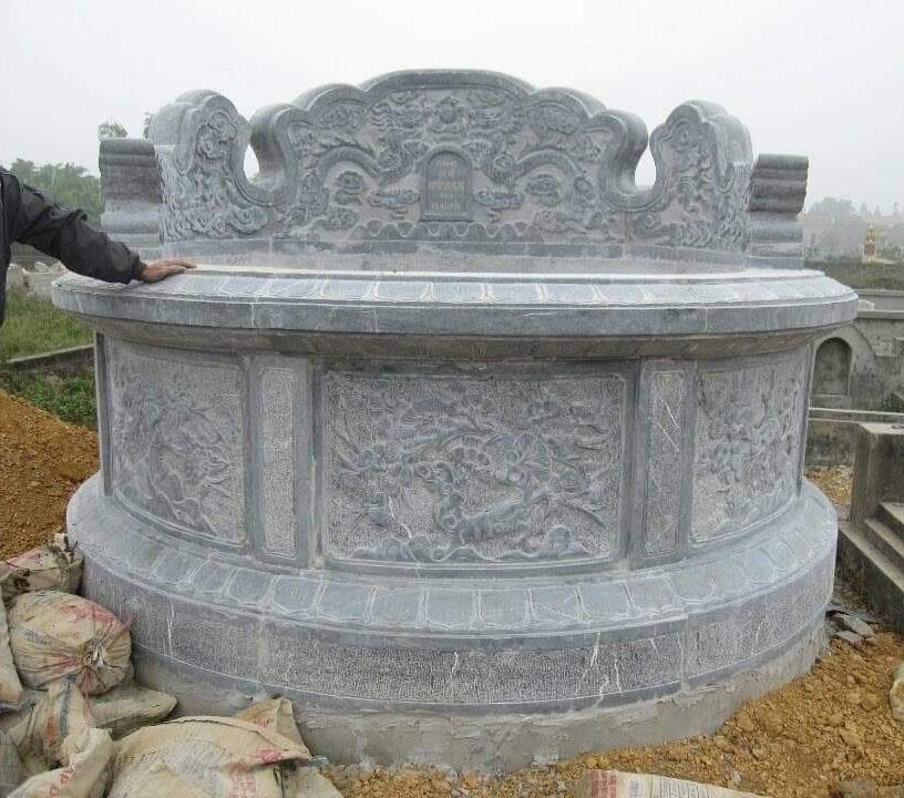 Mộ đá hình tròn - Mộ đá tròn - Đá Phát Tâm (13)